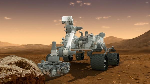 2012년 화성에 도착한 뒤 현재까지 활약 중인 우주 탐사 로봇 '큐리오시티'. 화성의 암석 및 토양 채취 분석 임무를 수행하고 있다. - 미국항공우주국(NASA) 제공